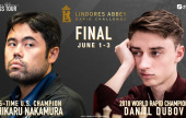 Lindores Abbey Rapid Challenge (SF-3): Nakamura vence a Carlsen