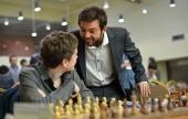 Campeonato de Europa individual (9): Muchas tablas en cabeza.