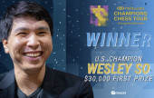 Wesley So triumphs in the Chessable Masters