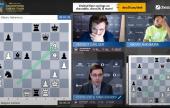 Opera Euro Rapid Day 2: Carlsen shocks Nakamura