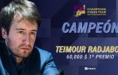 Radjabov vence a Aronian y gana el Airthings Masters