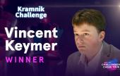 Keymer wins Kramnik Challenge in last-day thriller