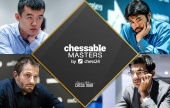 Chessable Masters 8: Giri nas semis, Naka se recupera