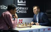 Mamedyarov líder. Carlsen escapa.