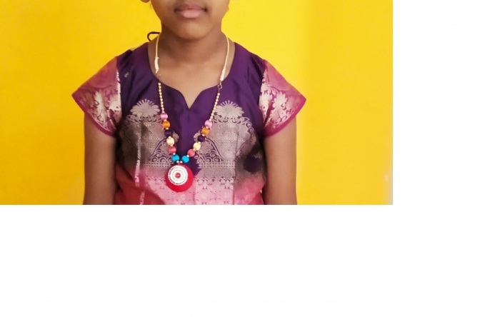 Shashini Puvi – Gold Medalist in Under-6 Girls in 9th Nationals School Chess Championship 2019 INDIA