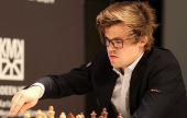 GRENKE Classic 5: Magnus wins but Levon leads