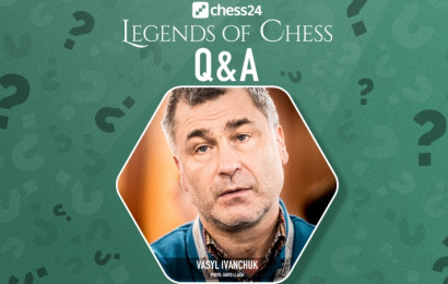 Q&A with Chess Legend Vasyl Ivanchuk