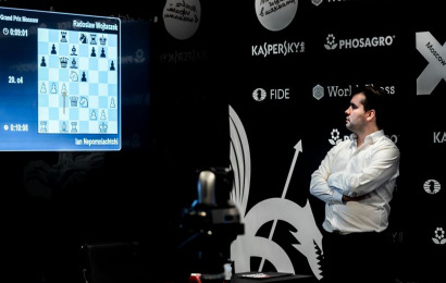 Moscow GP Semis TB: Nepo sets up all-Russian final