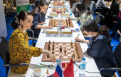 World Teams 4-5: Chinese women strike