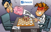 Carlsen-Caruana 1: Magnus lets Fabi off the hook
