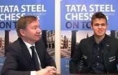 La racha de Carlsen termina... con una brillante entrevista