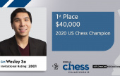 Wesley So wins US Championship with Fischeresque 9 out of 11
