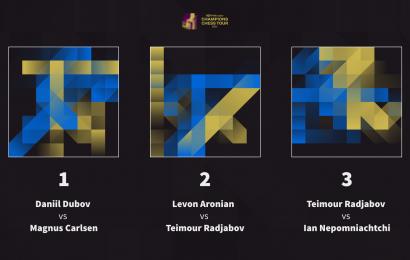 Solo para Premium: Vota jugador y logo para el próximo evento del Champions Chess Tour