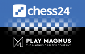 chess24 and Play Magnus join forces