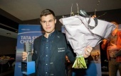 Carlsen's incredible supertournament record