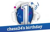 chess24 feiert seinen ersten Geburtstag!