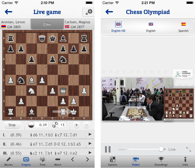 Watch the Olympiad live with the chess24 app - Olympiad News