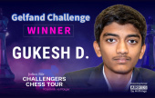 Gukesh se abre paso al Champions Chess Tour