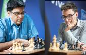Anand y Caruana líderes en París
