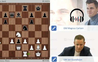 Moscow GP, QF 1: Magnus on match strategy