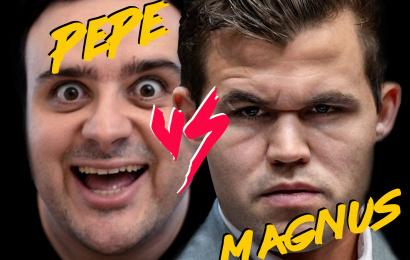 Llegó el día! Pepe Cuenca vs Magnus Carlsen