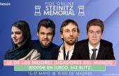 Carlsen y Antón jugarán en el Memorial Steinitz