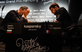 Hamburg GP, QF: MVL, Grischuk & Duda through