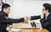 US Champs 3: Caruana hits the front, again