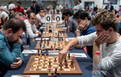Euro Clubs 5: Carlsen and Ding on collision course