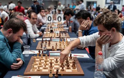 Europacup, R5: Vor dem Showdown Carlsen-Ding Liren