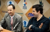 Kramnik and Topalov bury the hatchet