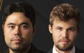 Carlsen and Nakamura share Chess 9LX title