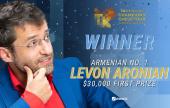 Levon Aronian gleitet im Goldmoney Asian Rapid zum Sieg