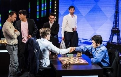Paris GCT, Tag 4: Nakamura ist Carlsen dicht auf den Fersen