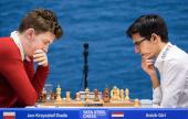 Tata Steel 2019: Carlsen y Giri colíderes