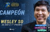 Wesley So gana a Magnus Carlsen de nuevo y se lleva el Opera Euro Rapid