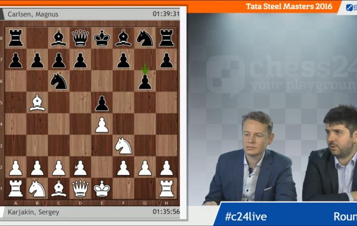 Exclusive Wijk aan Zee Premium live commentary