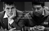 Carlsen-Anand website launched