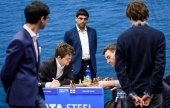 Tata Steel 2018, 8: Carlsen blunders and wins