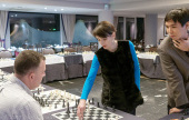 Aronian & co. in Aktion beim Gibraltar Open