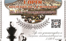 I Open Sociedad de la montaña del 5 al 11 de diciembre (Gran canaria)
