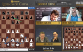 chess24 Legends 5: Ivanchuk draws blood, but Carlsen & Nepo lead