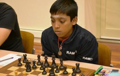 Praggnanandhaa ist zweitjüngster Großmeister aller Zeiten