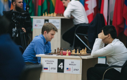 FIDE World Cup 4.2: So, Svidler & Nepo out
