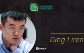 Ding Liren plays the Skilling Open… and Banter Blitz today!