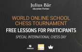 Julius Baer and Play Magnus Group make hundreds of free chess lessons available to children