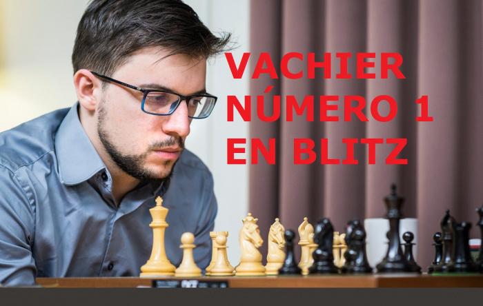 Carlsen pierde el Número 1 de Blitz a manos de Vachier...