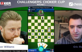 Ankündigung des Challengers Choker Cups
