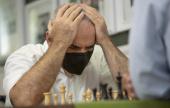 Chess 9LX 1: Fabi top as Kasparov & Nakamura suffer