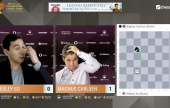 Goldmoney Asian Rapid Tag 5: Carlsen & Aronian kämpfen sich nach Stechen ins Halbfinale
